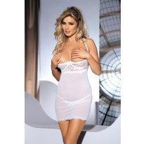 Открытое кремовое мини-платье Monic L/XL с трусиками