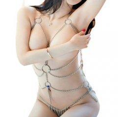 Оригинальный секс-костюм с цепью