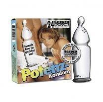 Удобные высококачественные презервативы с эрекционным кольцом Potenz