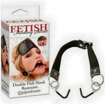 Расширитель для рта и маска Double Fish Hook Restraint