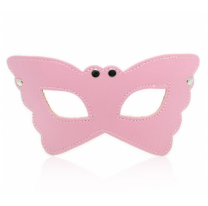 Маска БДСМ для секса розовая