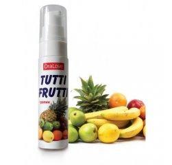 Гель-лубрикант ORAL LOVE Tutti-frutti тропик 30 гр