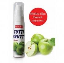 Гель-лубрикант ORAL LOVE Tutti-frutti яблоко 30 гр