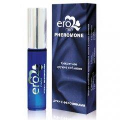 Мужские духи с феромонами Eroman №6 Chrome Azzaro 10 мл