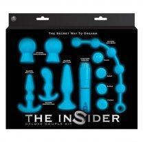Набор анальных секс-игрушек The Insider Set Deluxe