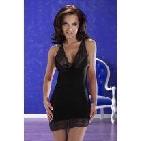 Изысканное черное платье Cora L/XL