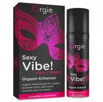 Orgie Стимулирующий гель для двоих Sexy Vibe Intense Orgasm, 15 мл