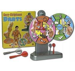 Эротическая игра Sexy-Striptease Darts