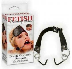 Расширитель для рта и маска Double Fish Hook Restraint