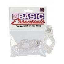 Эрекционное кольцо BASIC стимулирующее прозрачное