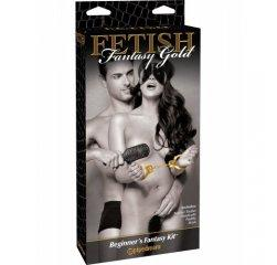 БДСМ-набор FF Gold Beginner's Fantasy Kit