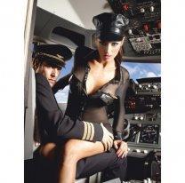 Сексуальный женский наряд пилота S/M