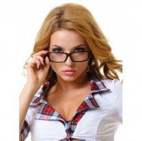 Игровые очки для секс-костюма преподавательницы