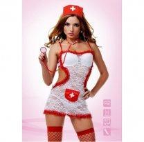 Костюм соблазнительной медсестры S/M