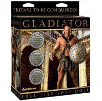 Секс-кукла мужчина с вибрирующим фаллосом и язычком Gladiator Love Doll