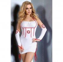 Сексуальный костюм медсестры для ролевых игр Raisa S/M