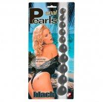 Анальная цепочка Anal Pearls Black