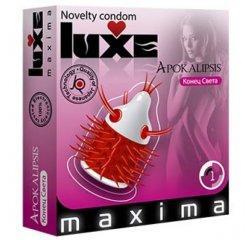 Презерватив с усиками Luxe Maxima Конец Света