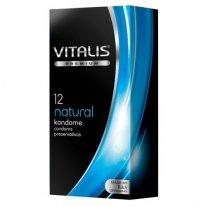 Презервативы VITALIS PREMIUM №12 Natural - классические
