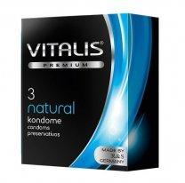Презервативы VITALIS PREMIUM №3 Natural - классические