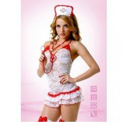 Кружевной эротический костюм медсестры M/L