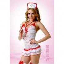 Кружевной секс-костюм медсестры S/M
