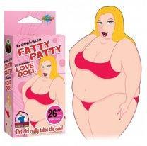 Мини-кукла для секса Travel Size Fatty Patty Blow Up Doll