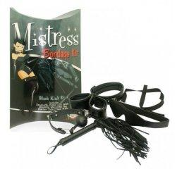 БДСМ набор Mistress Bondage Kit Black
