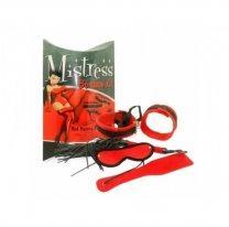 Красный ролевой набор Mistress Bondage Kit Red