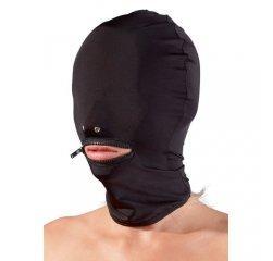 БДСМ маска для головы с молнией Role Play