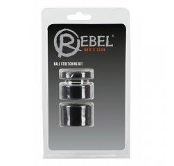 Набор колец для растяжки мошонки Rebel Ball Stretching