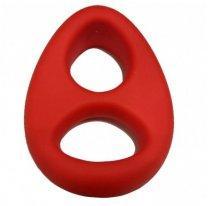 Кольцо на член и мошонку X-MEN красное