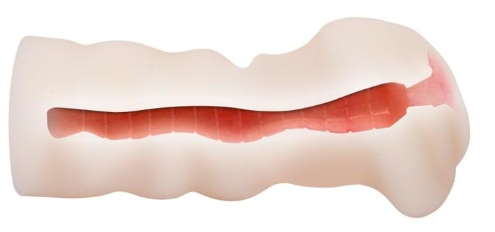 3D-мастурбатор с виброкольцом вагина