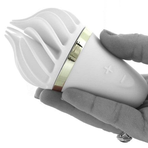 Вибростимулятор Satisfyer Spinnator Layons Sweet Treat White/Gold - купить в Беларуси с доставкой