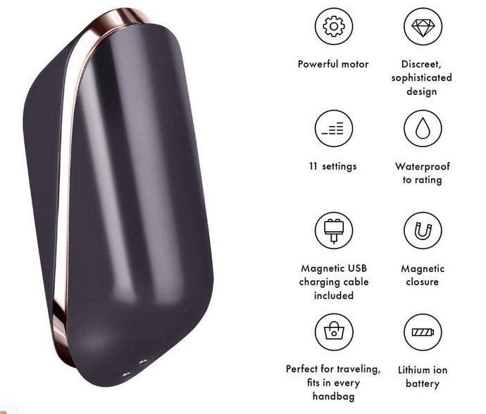 Бесконтактный стимулятор клитора Satisfyer Pro Traveler - все характеристики