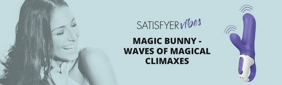 Вибратор-кролик Satisfyer Vibes Magic Bunny