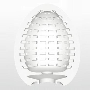 Купить мастурбатор яйцо Tenga Egg Spider дешево предлагает секс шоп магазин ORGAZMUS