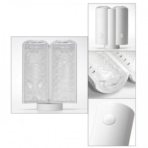 Купить мастурбатор вакуумный Tenga Flip-Air Lite Melty White дешево предлагает секс шоп магазин ORGAZMUS