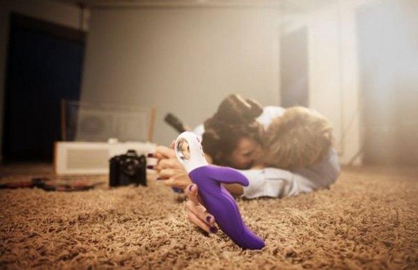 Вибратор с клиторальным стимулятором Fun Factory Lady Bi фиолетовый